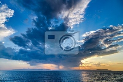 Sunset at Vladivostok, Russia