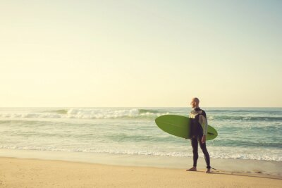 Obraz surfer