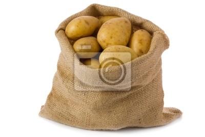 Obraz Surowe ziemniaki