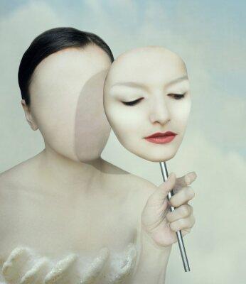 Obraz Surrealistyczny portret