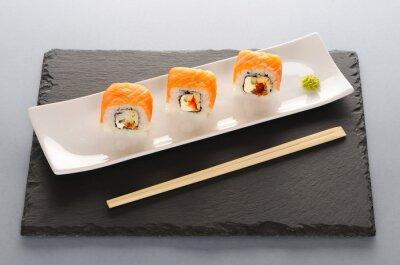 Obraz Sushi rolkach