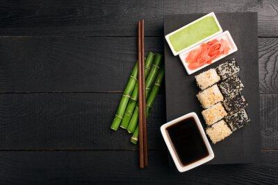 Obraz Sushi rolki z ryb
