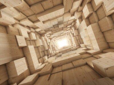 Obraz Światło na końcu tunelu