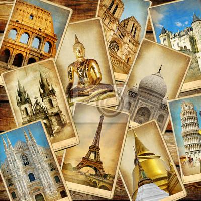 światowych zabytki - zabytkowe consepts collage.travel