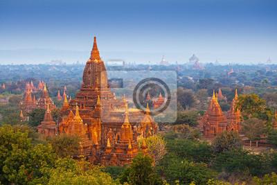 Obraz świątyń w Bagan, Myanmar