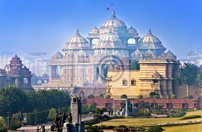 Obraz Świątynia Akshardham, Delhi, Indie