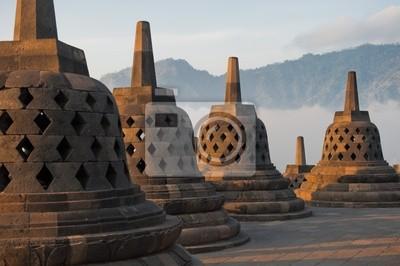 Świątynia Borobudur, Java, Indonezja