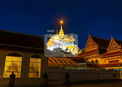 Świątynia Golden Mountain, Wat Saket Bangkok
