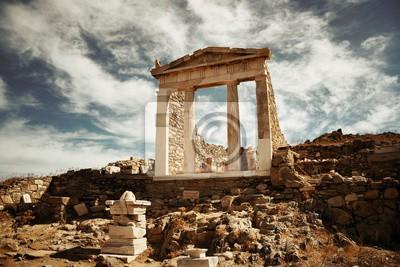 Świątynia w Delos