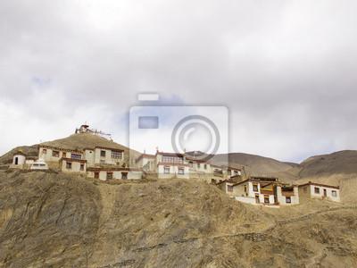 Obraz Świątynia w Ladakh, Indie