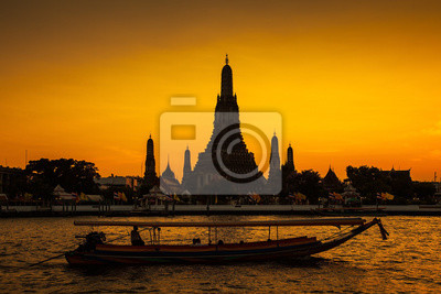 Świątynia Wat Arun w Bangkoku, Tajlandia