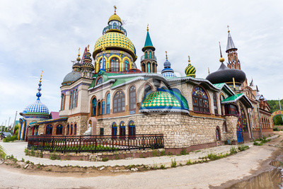 Świątynia wszystkich religii, Kazań, Rosja