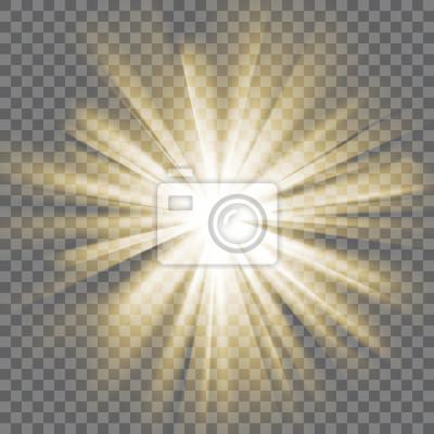 Obraz Świecące światła wybuch