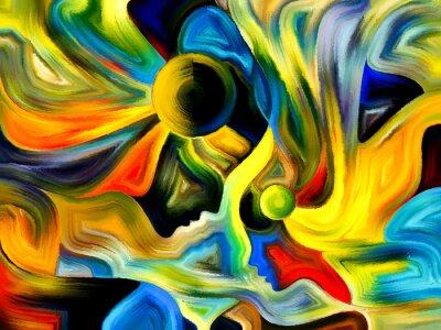 Obraz Święte Barwy koncepcyjne