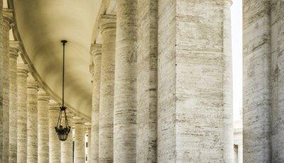 Obraz Świętego Piotra Squar, Watykan, Rzym