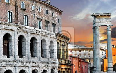 świetna Roma, Teatr Marcellusa