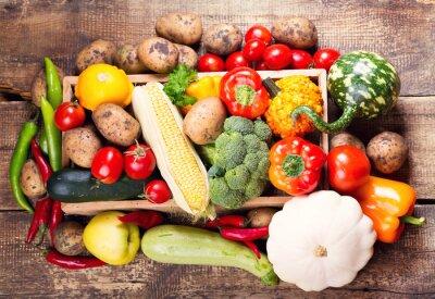 Obraz świeże warzywa