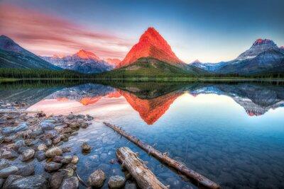 Obraz Swiftcurrent Lake at Dawn