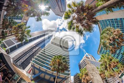 Sydney budynki na słonecznym dniu, Australia