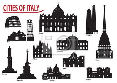 Sylwetki włoskich miast