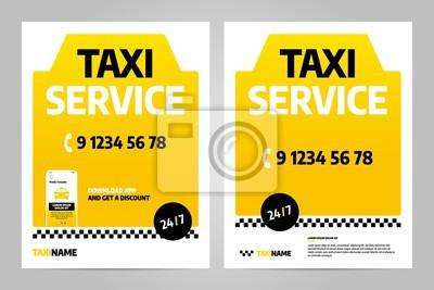 Szablon projektu układu wektorowego dla taksówki. Można dostosować do broszury, raportu rocznego, magazynu, plakatu.