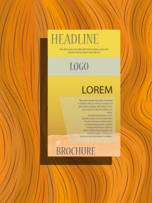 Szablon układu broszur, tło projektu okładki, raporty roczne.