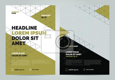 Szablon układu broszur, tło projektu okładki, raporty roczne. Można dostosować do broszury, plakatu, prezentacji korporacyjnej, ulotki, baner, strony internetowej. Szablon układu w formacie A4.