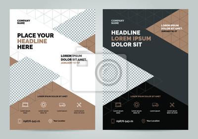 Szablon układu broszur, tło projektu okładki, raporty roczne. Można dostosować do broszury, raportu rocznego, czasopisma, plakatu, ulotki, baneru, strony internetowej. Szablon układu w formacie A4.