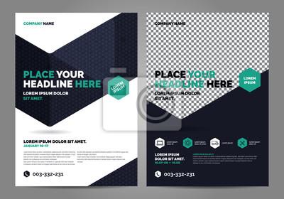 Obraz Szablon układu broszur, tło projektu okładki, raporty roczne. Można dostosować do broszury, raportu rocznego, magazynu, plakatu, prezentacji korporacyjnej, portfolio, ulotki, baner, strony internetowe
