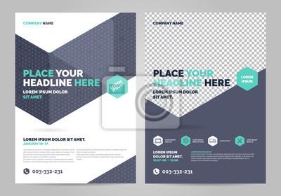 Szablon układu broszur, tło projektu okładki, raporty roczne. Można dostosować do raportu rocznego, plakatu, ulotki, banera.