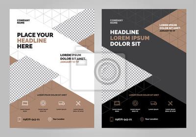 Szablon układu broszur, tło projektu okładki, raporty roczne. Można dostosować do raportu rocznego, plakatu, ulotki, banera. Szablon układu w formacie A4.