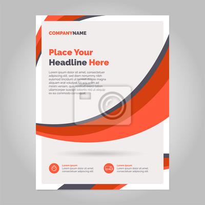 Szablon układu broszura, szablon projektu, geometryczne streszczenie tło