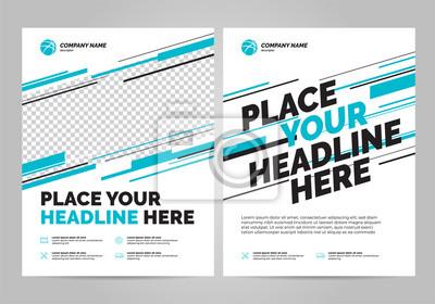 Szablon zaproszenia sport projekt ulotki. Można dostosować do broszury, raportu rocznego, magazynu, plakatu.