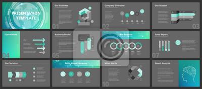 Obraz Szablony prezentacji biznesowych