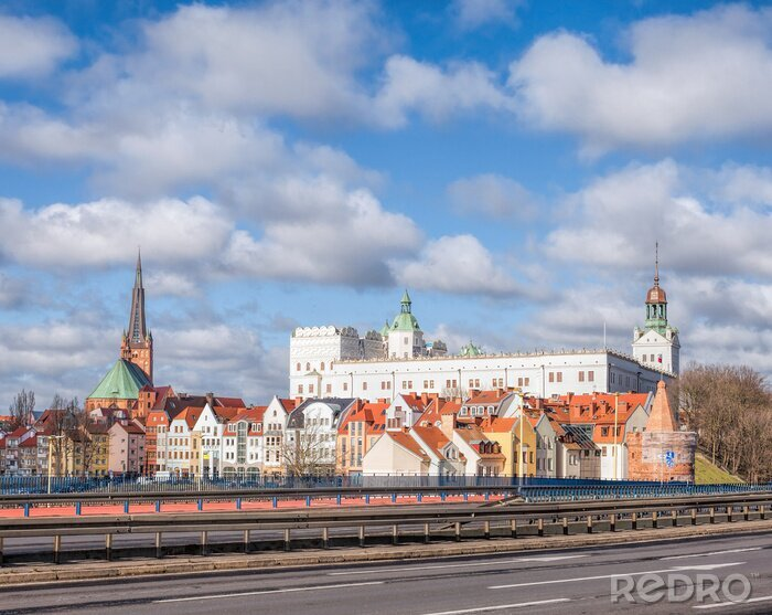 Obraz Szczecin City, Poland.