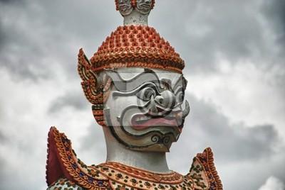 Szczegół Tajlandii świątyni w Bangkoku