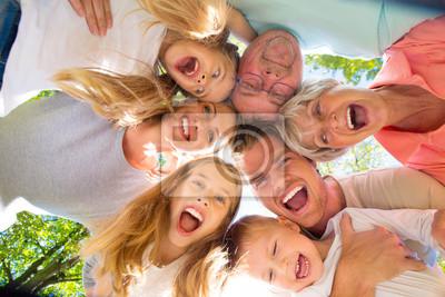 Obraz szczęśliwych ludzi