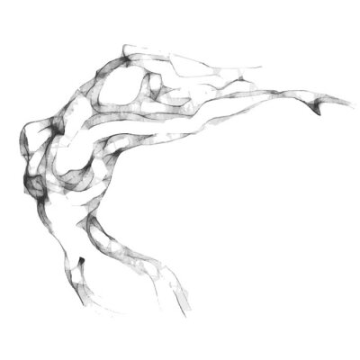 Obraz Szkic kobieta tułowia