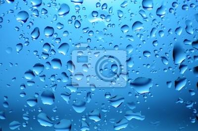Szkło w deszcz