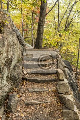 Szlak Appalachów granitowe Schody