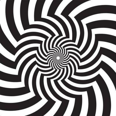Obraz Sztuka optyczna nieskończoność Tunnel