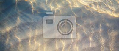 Obraz sztuki Tropikalna plaża tle wody