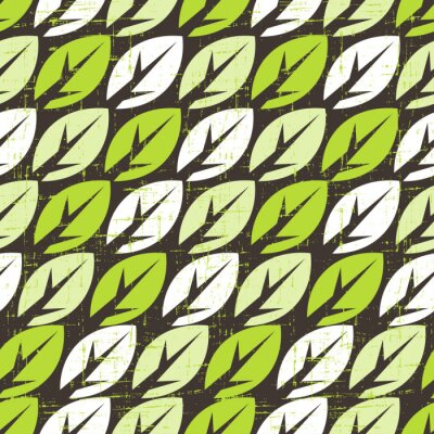 Obraz Szwu z liści.