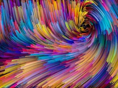Obraz Szybsza od koloru