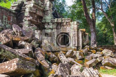 Ta Prohm Zamek, Angkor Thom, Kambodża