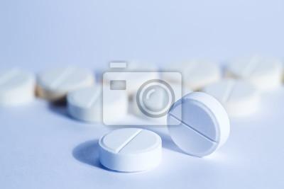 Obraz tabletki, pigułki medycyny