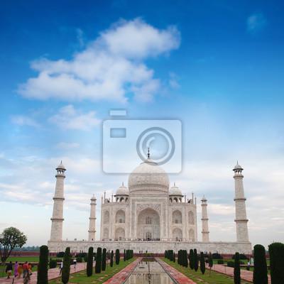 Taj Mahal Agra India dzienne