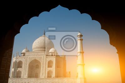 Taj Mahal brama view