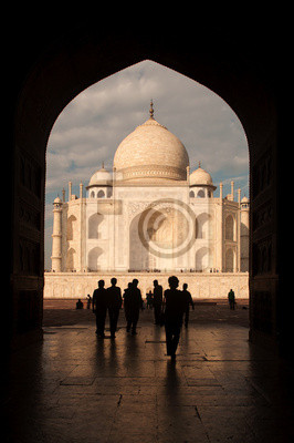 Taj Mahal drzwi Arch View