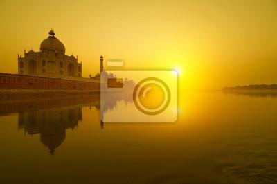 Taj Mahal słońca